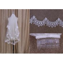 Beautiful Lace Two Layers Veil