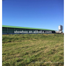 steel structure design chicken slaughter house ventilation house for sale