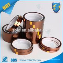 Película resistente al calor de alta temperatura 280C Cinta de poliimida para uso industrial