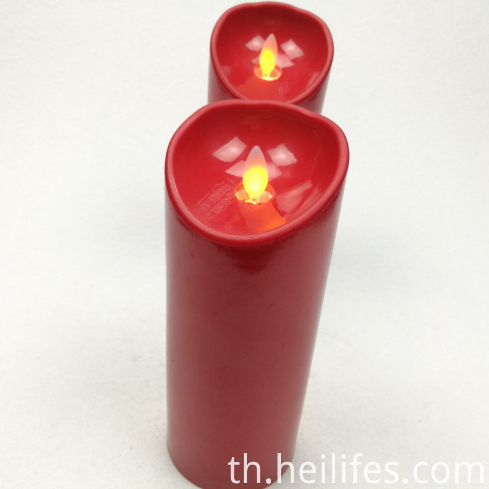 Festival Gifts Red Candle Lights
