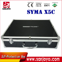 2016 X5C Aluminum Case Box Outdoor for rc drone Protection Box Syma X5SC X5SW quadcopter