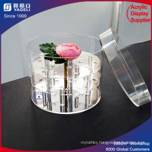 New Fashion Design Acrylic Flower Container Rose Display Box