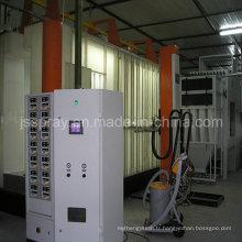 Équipement électrostatique de revêtement de poudre pour l'aluminium