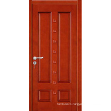Hot Sale High Quality Solid Wooden Door with Fashion Design with Certificate