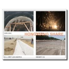 Geogrids do poliéster para o Roadbed, aeroporto, estrada de ferro, inclinação, muro de retenção reforçado, 100m / rolo