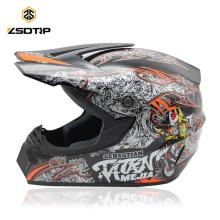 DOT-zugelassener Motocross-Dirt-Bike-ATV-Helm Offroad-Helmkopfgetriebe ML XL Moto Casque Capacete Casco