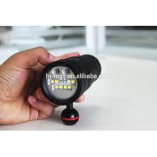 Hi-max UV8 Tauch-Taschenlampe 5000lumen 3W UVled Tauchen Video Licht
