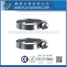 Fabriqué en Taiwan Carbon Steel Schlauchklemmen Heavy Torque European Style Hose Clamp