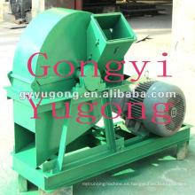 Máquina de trituradora de troncos recién avanzada con motor de 15kw