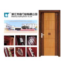 Puerta de dormitorio de madera interior de alta calidad (LTS-102)