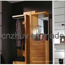 Mirrored Console Table for Wardrobe Bedroom Furniture (WR-11010)