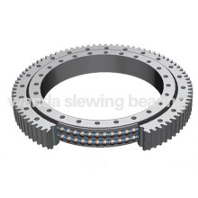 Double row ball slewing bearing with external gear(WD-07)