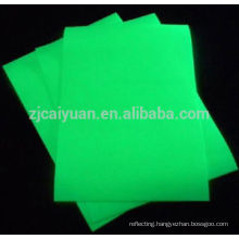 CY Glow in the Dark Fabirc, use a laser pen draw on the fabric