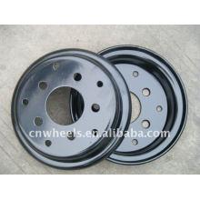8 polegadas 9 polegadas pequenas rodas de aço para empilhadeira