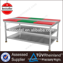 Good Quality Kitchen SS201/304 Portable Work Bench With Bench Vice