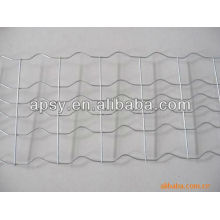 Marine pipeline V bend welded reinforced mesh
