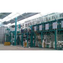 100 toneladas por día de máquina de molino de harina de trigo