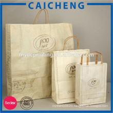 Custom Kraft Paper Bag Wholesale Paw Print Bag
