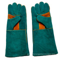 16 Inch Cow Split Leather Hand Protective Gloves for Welding