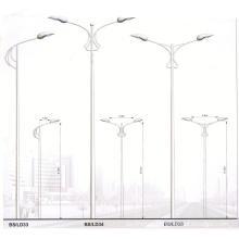 Various Galvanized Street Light Steel Pole