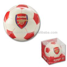 New Football Saving Bank PVC Gift Box For BS130520A