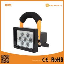 H02 10W recarregável super brilhante LED luz de trabalho portátil