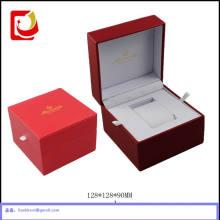 Роскошная кожаная Коробка пакет часы упаковка для часов