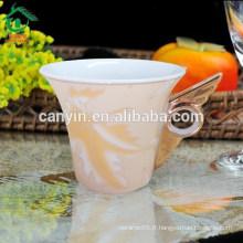 2015 Coffre-fort pour les contacts alimentaires bon marché ciseaux en vrac tasse de souvenir en céramique