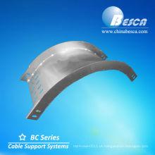 Bandeja de cabo de cotovelo interna / externa galvanizada (UL, cUL)
