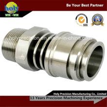 Подвергать механической обработке CNC нержавеющей стали перила части
