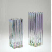 Vase en verre coloré (DRL14147 et DRL14148)