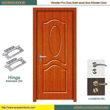 Bathroom PVC Door Interior MDF Door PVC Sliding Door