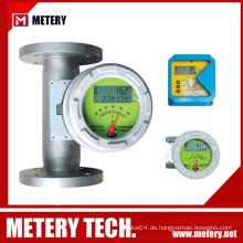 Metallrohr-Durchflussmesser Temperatur- & Druckausgleich Sauerstoff-Durchflussmesser