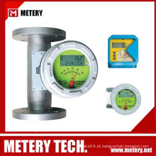 Medidor de fluxo de tubo de metal medidor de temperatura e pressão medidor de fluxo de oxigênio