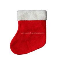 Вельвет рождественский носок