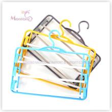 PP plástico de economia de espaço cabide de calças (36 * 22 cm)