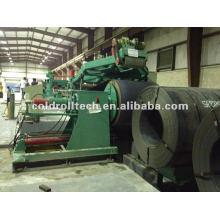 Corte automático à linha de comprimento 1-6X2000mm Bobina de aço laminada a quente