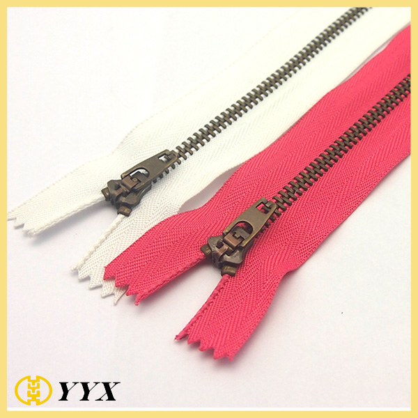 YG metal zipper