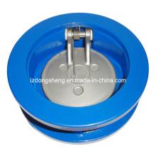 Gusseisen Wafer Single Disc Swing Rückschlagventil Pn10 / 16