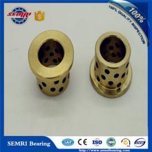 China Bearing Factory Copper Bush Oilless Bearing Brass Sleeve Brushing