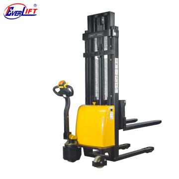 Apilador eléctrico barato de la plataforma de 1000kg 1500kg 2.5m 3m Bias