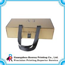 Verpackungsbox aus hochwertigem Karton mit Griff