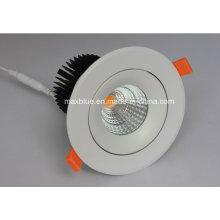 25W Dimmable 220V 100-240V CREE COB LED encastré Downlight