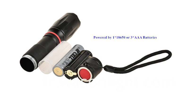 Military Led Flashlight