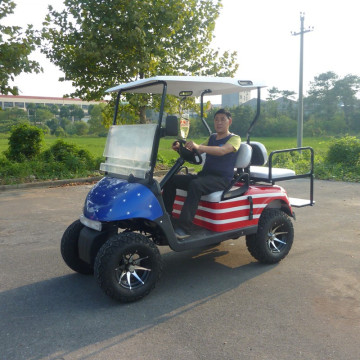 factory4 seater gas atau battery powered golf carts