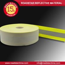 Retardant Bicolor reflective fabric for firemen