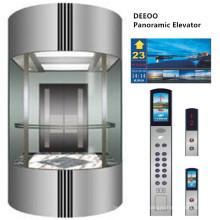 Ascenseur panoramique panoramique en verre résidentiel Deeoo
