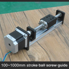 Low Cost China cnc stepper Linear guide silde Para equipos cnc