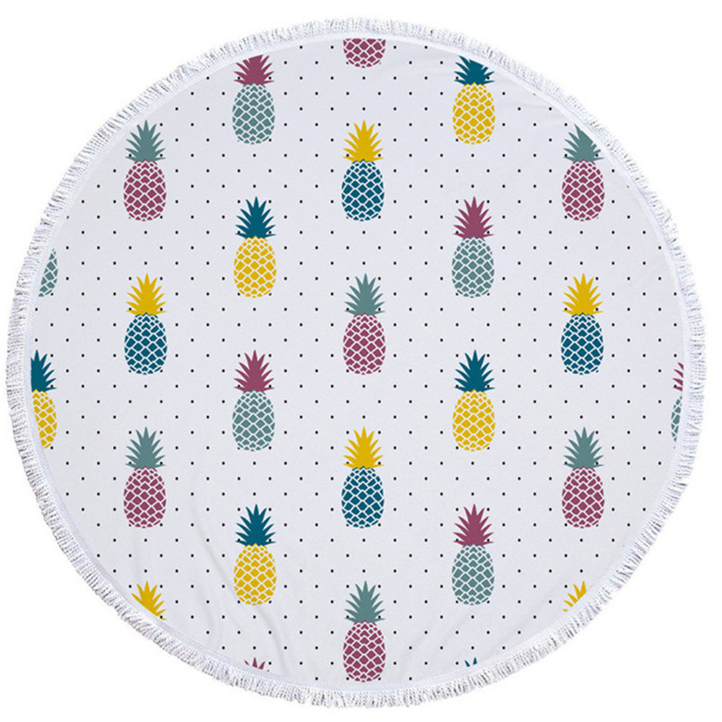 Big Circle Beach Towel