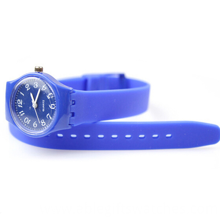 blue color watch